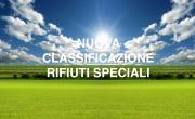 NUOVA CLASSIFICAZIONE RIFIUTI SPECIALI - SIMAD